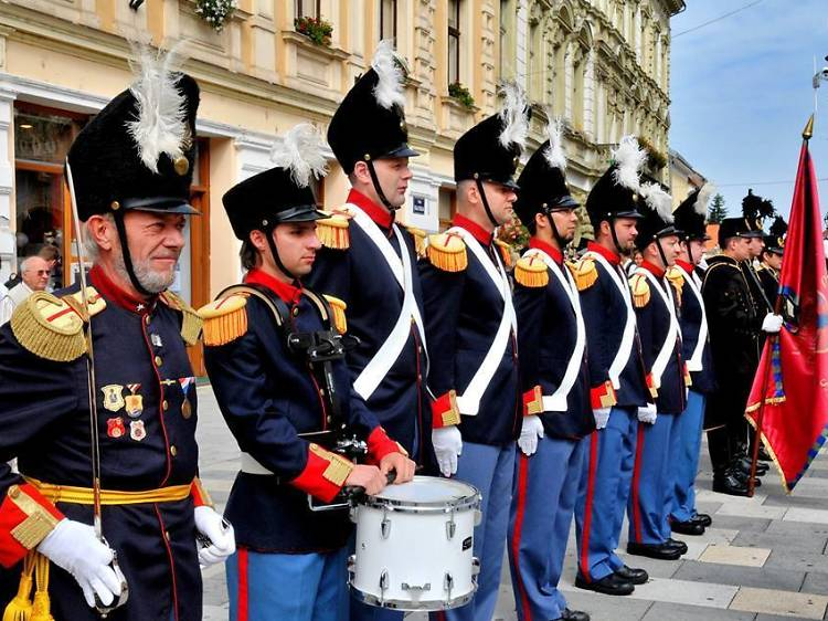 Witness Varaždin's own Changing of the Guard