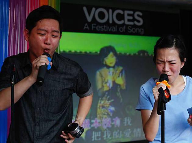 Esplanade Presents Voices – A Festival of Song 2018
