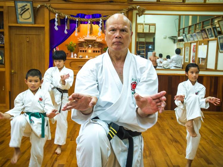 Learn karate at its source