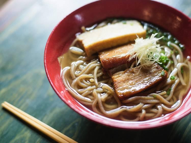 Slurp up some Okinawa soba