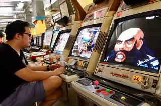 Hong Kong video game arcade
