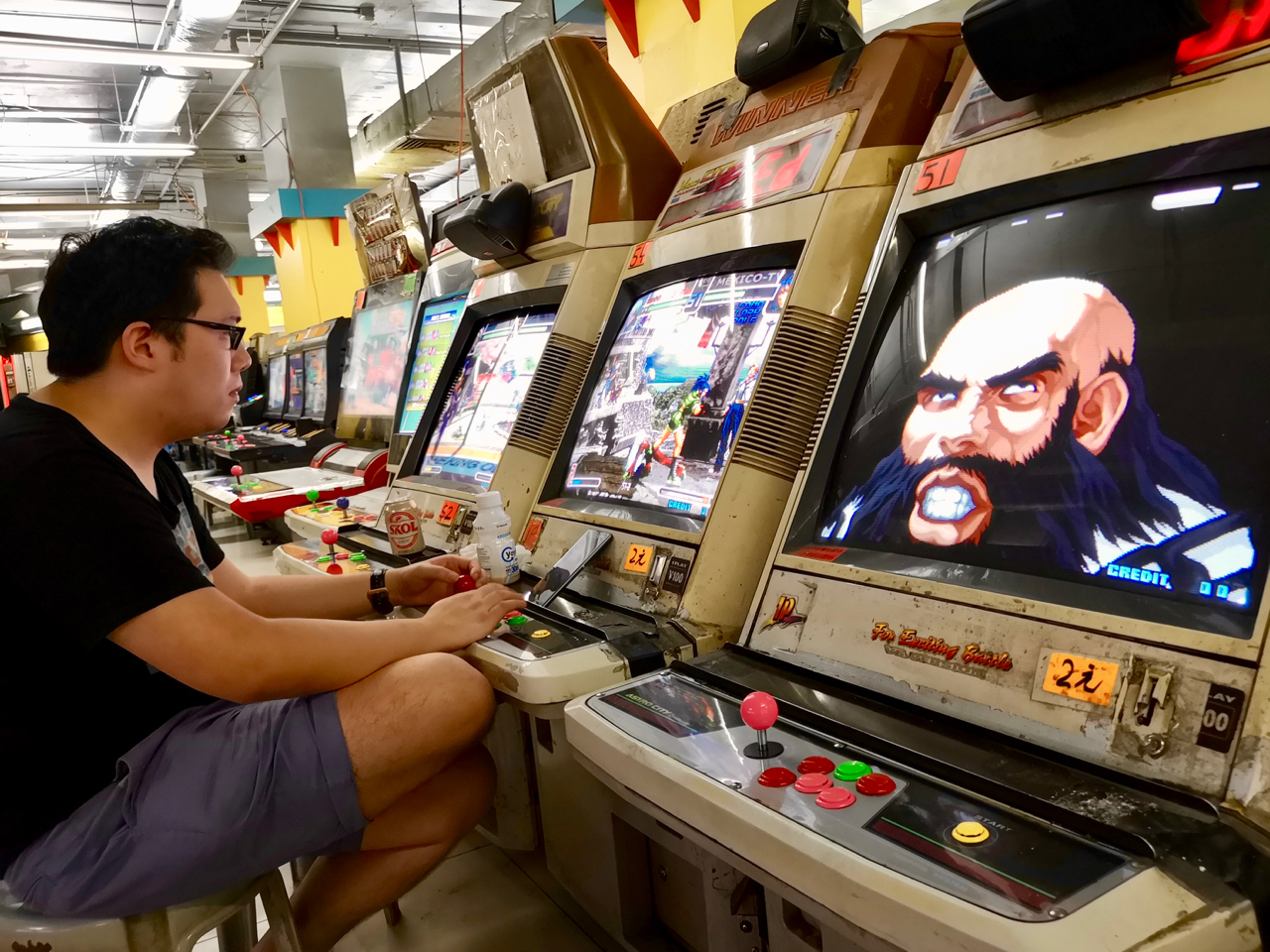 Hong Kong video game arcade