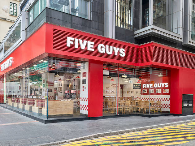 Five Guys in Wan Chai