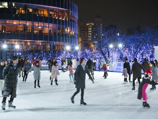 MIDTOWN ICE RINK in Roppongi