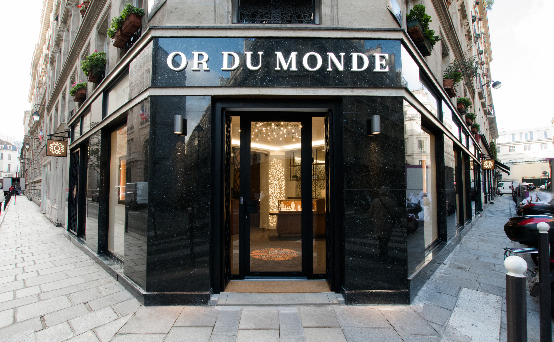 OR DU MONDE, la première green joaillerie parisienne ouvre une toute nouvelle boutique