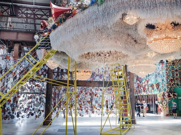 Nick Cave's epic artworks use extreme beauty to tackle the world's ugliness