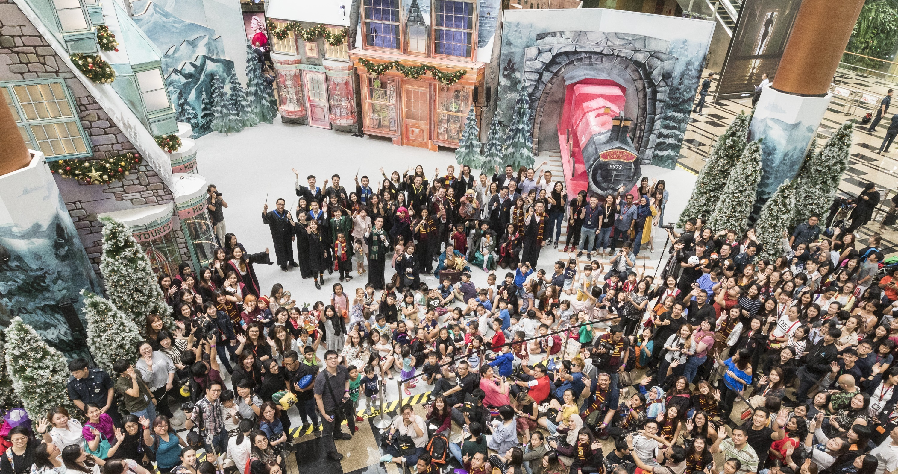 A Wizarding World Holiday