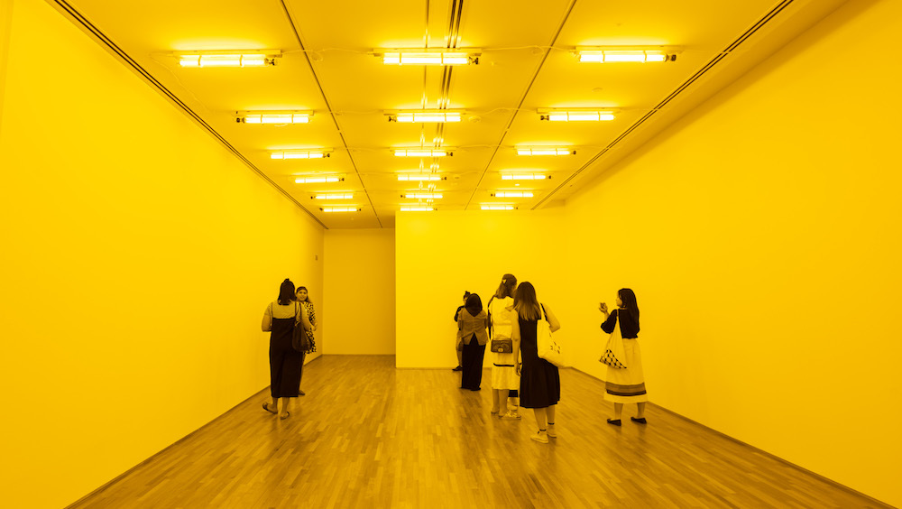 Create new art experiences at the Minimalism: Space. Light. Object. exhibition