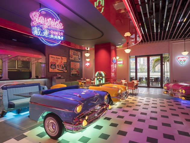 Joyride Diner, Studio City Macau