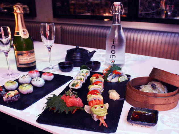 52% off sushi and dim sum afternoon tea at Inamo