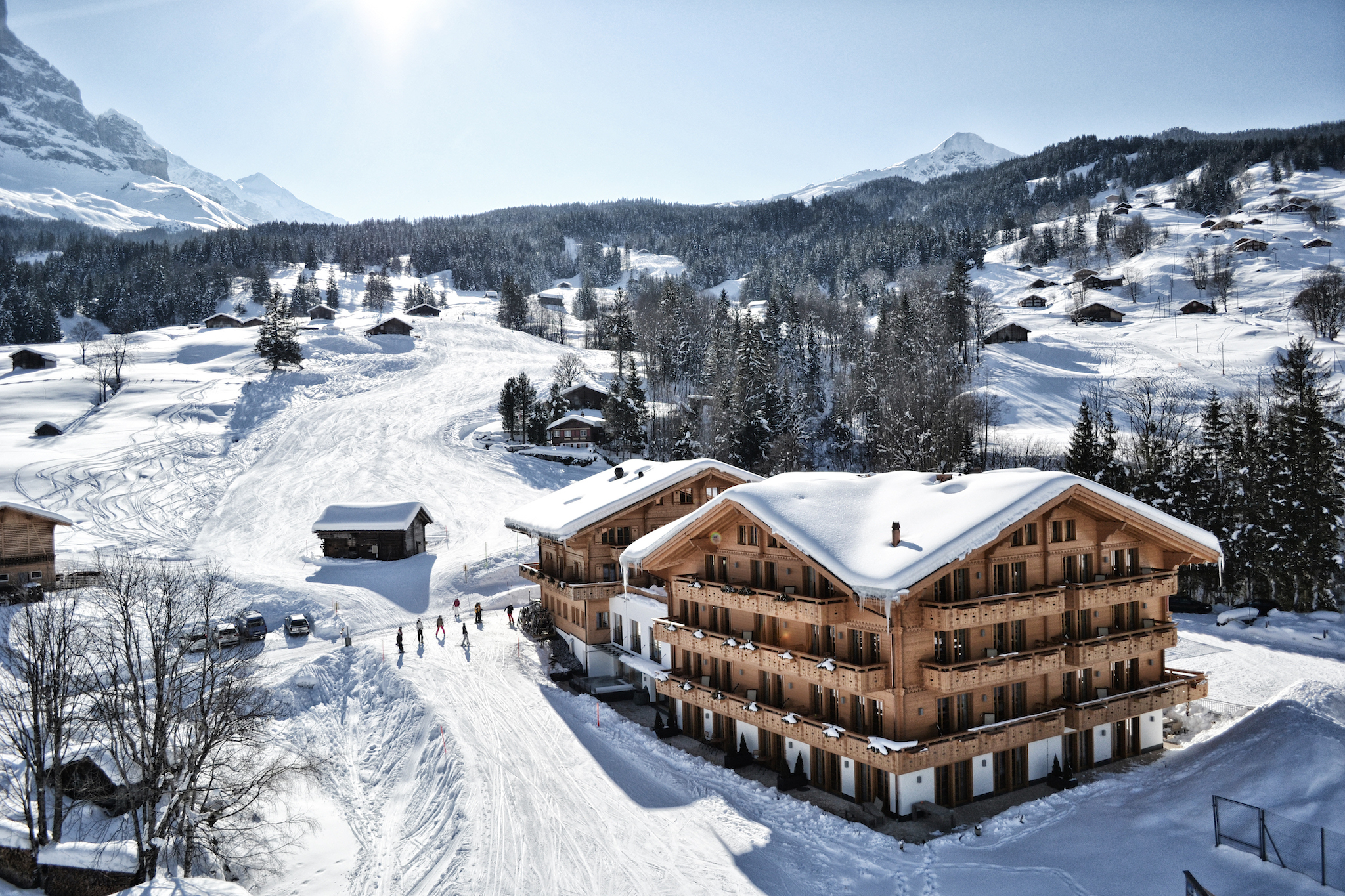 Aspen Alpin Lifestyle Hotel. Hôtel W Verbier, Verbier, for Swiss Tourism Winter Staycation advertorial