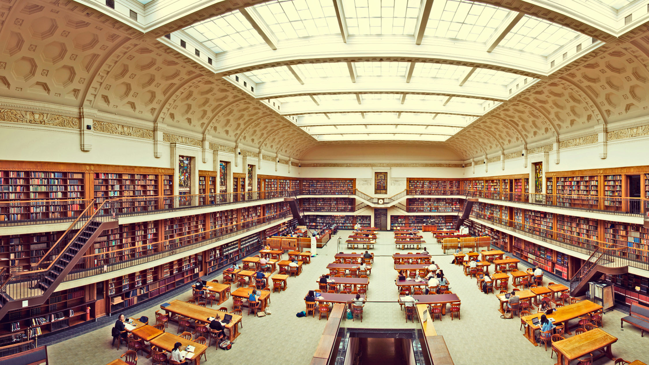 State Library of NSW Mitchell Reading Room