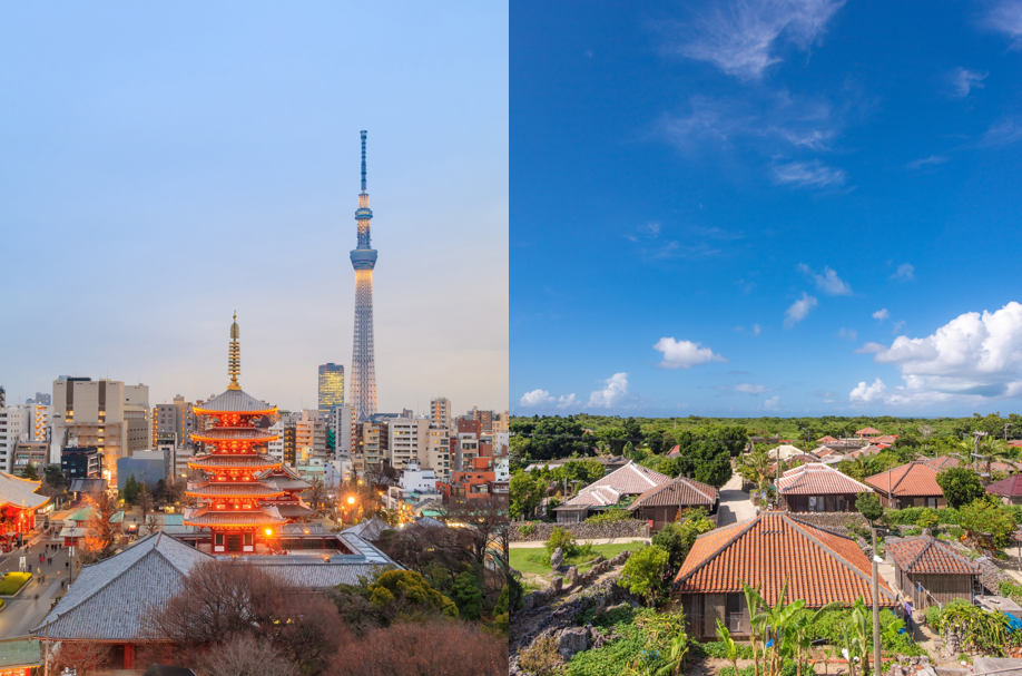 Visit Tokyo and Okinawa for a perfect taste of Japan