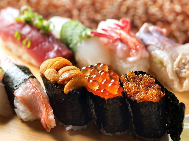 Have the freshest sushi at Tsukiji Market