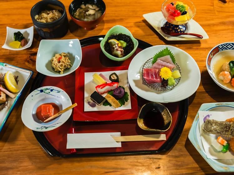 Eat like Ryukyu royalty