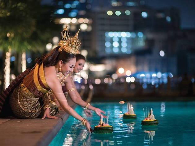 The Peninsula Bangkok Loy Krathong