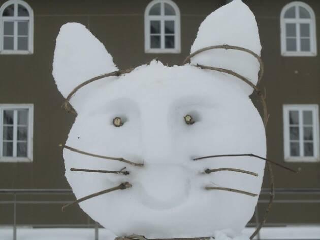 Escultures de neu