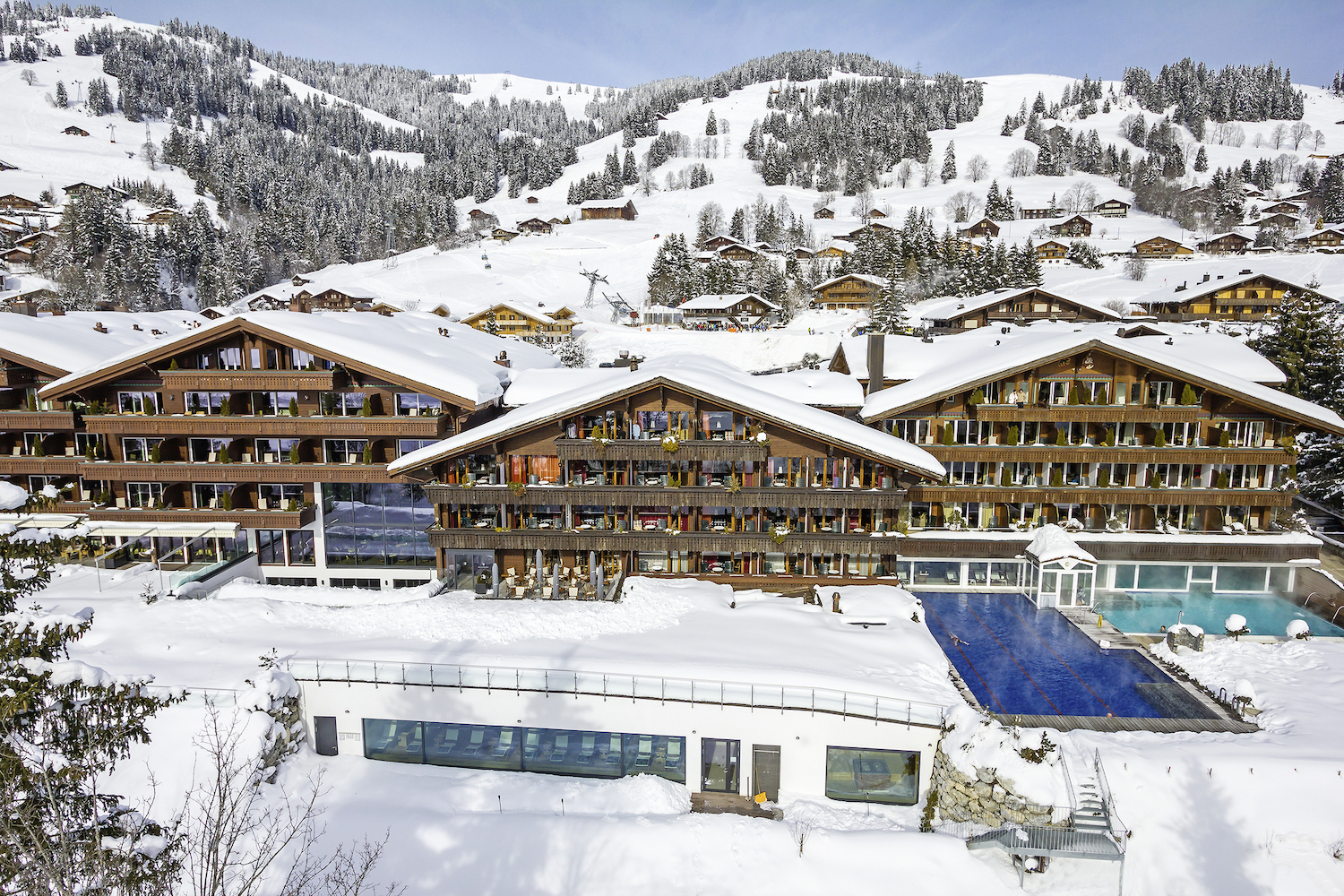 Ermitage Wellness and Spa-Hotel, Gstaad-Schönried, for Swiss Tourism Winter Staycation advertorial