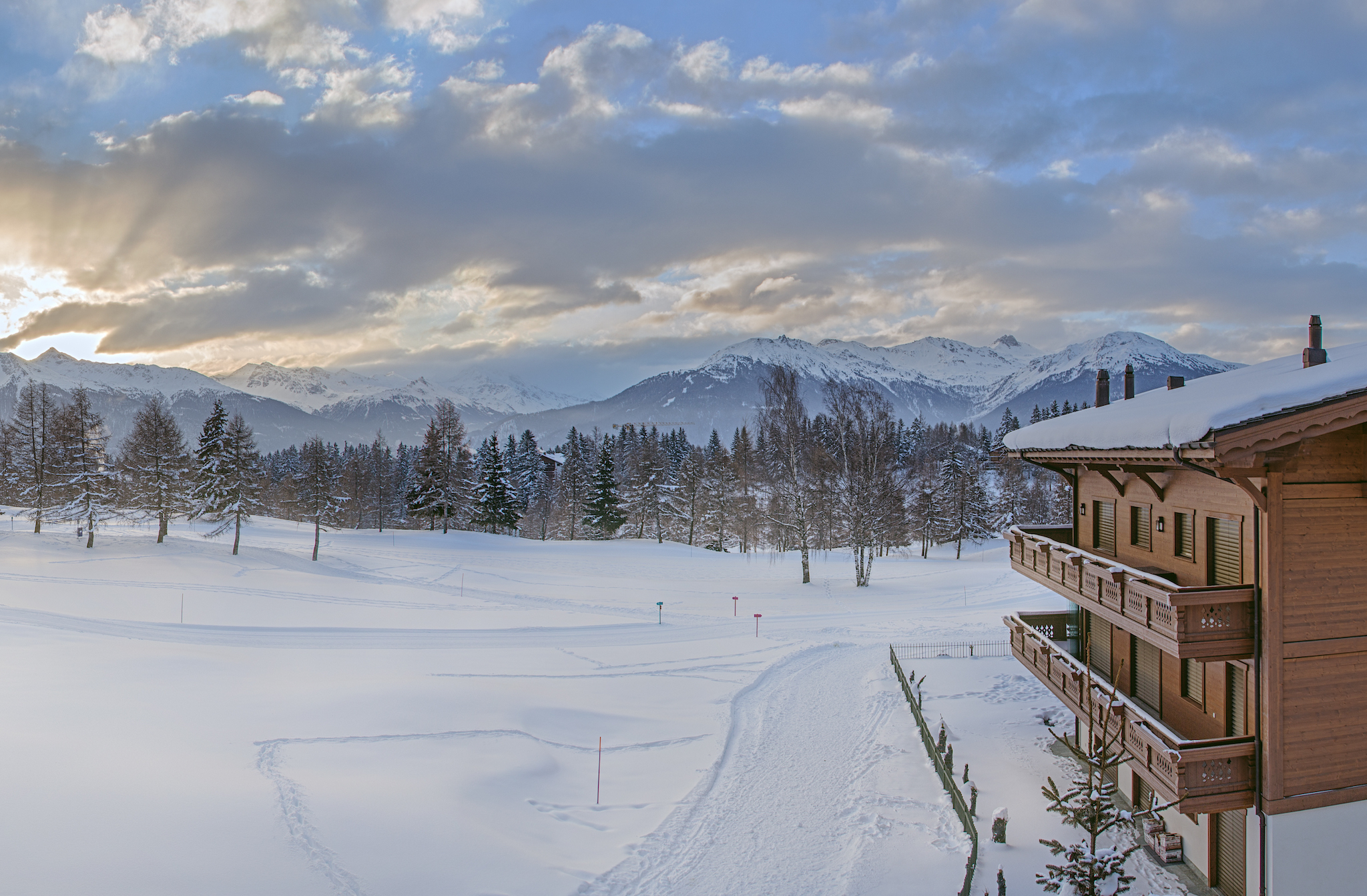 Guarda Golf Hôtel & Résidence, Crans-Montana, for Swiss Tourism Winter Staycation advertorial