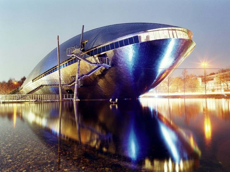 Get up close and personal with the universe at the Universum Science Centre