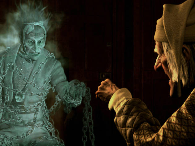 Disney- Los fantasmas de Scrooge