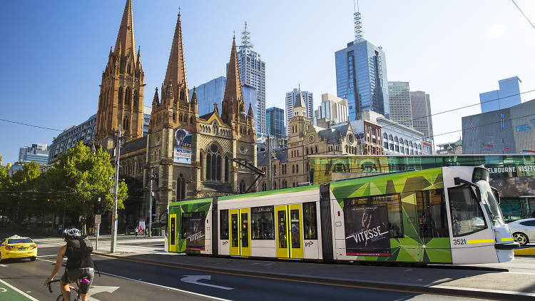 St Paul's Cathedral, Swanston Street, Melbourne