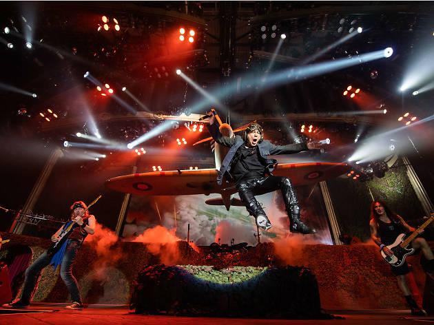Iron Maiden se presentará en el Palacio de los Deportes