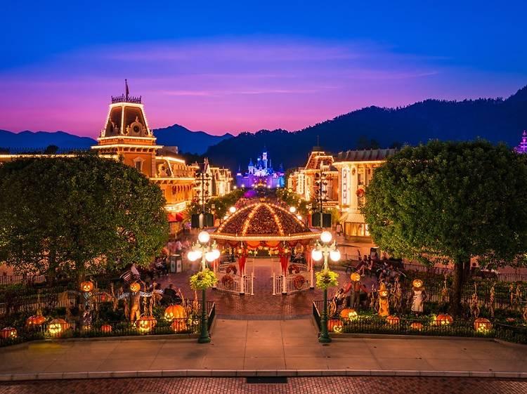 Have a magical time at Hong Kong Disneyland