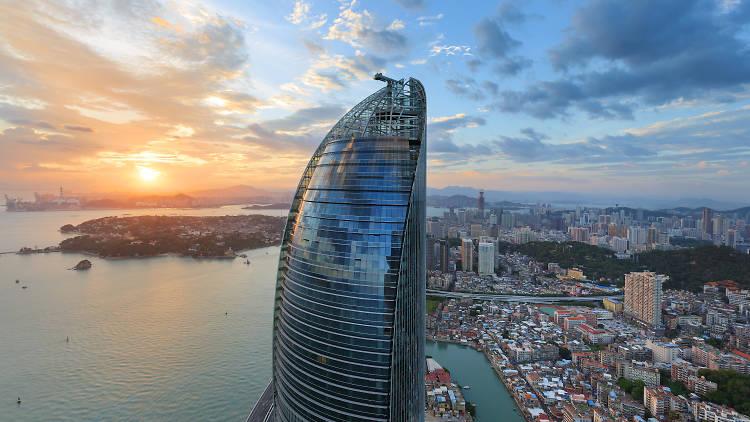 Twin Towers, Xiamen