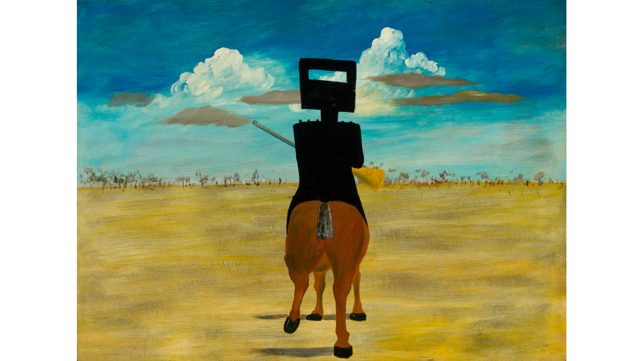 Sidney Nolan Ned Kelly Geelong Gallery 2019
