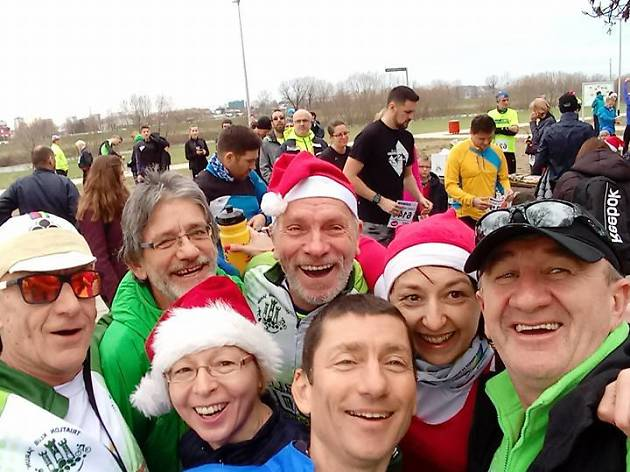 9th annual New Year's race