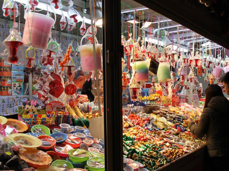 Comprar los regalos a última hora en la Feria de Reyes de la Gran Via
