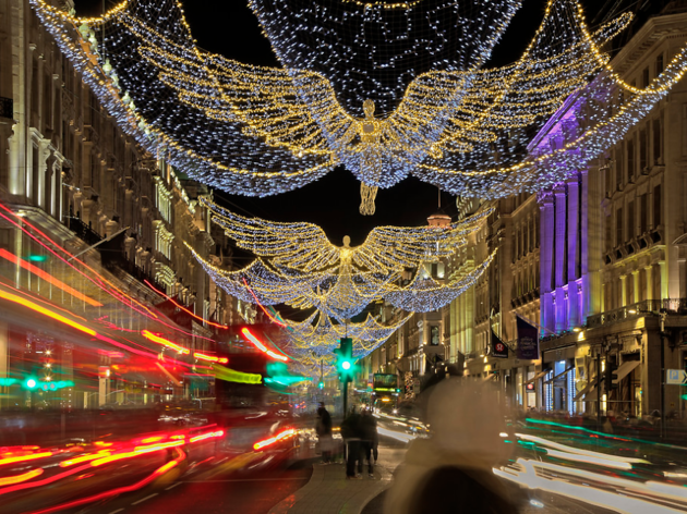 London events in December