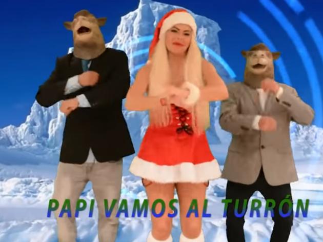 Resultado de imagen de El Polvorrón: La canción navideña de Leticia Sabater