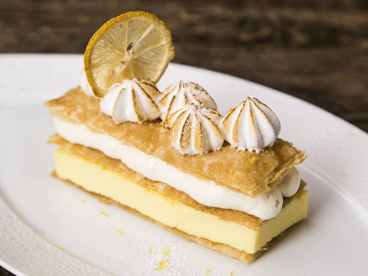 Ms. Hsing's Wonderful Lemon Meringue Napoleon at Booth One