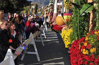 Tournament of Roses Parade: Post-Parade Float Showcase