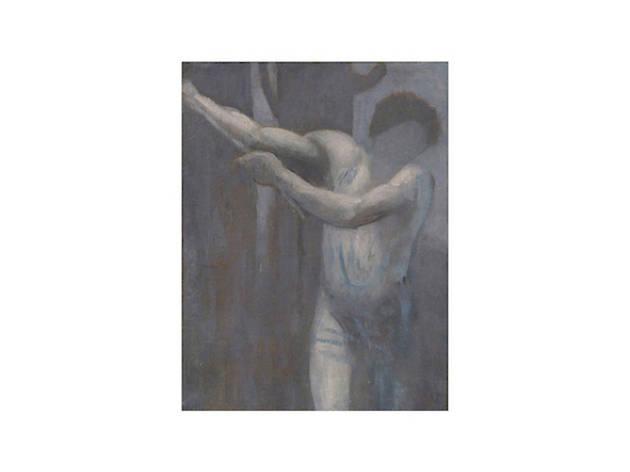 Pierre Puvis de Chavannes, Étude pour le bûcheron (Study for The Woodcutter), 1892