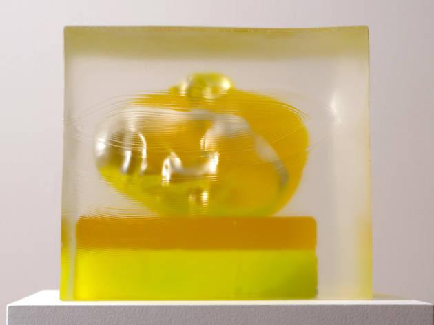 Rona Pondick, Encased Yellow, 2015-2017