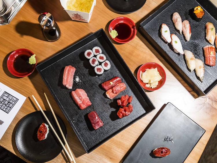 Mr. Maguro at Sushi-san