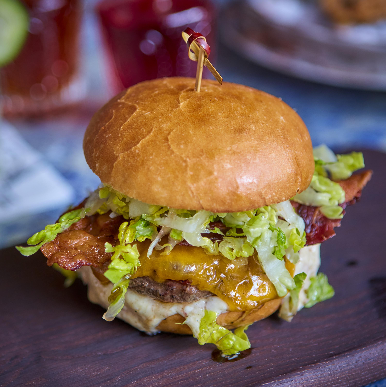 Cow Marlowe burger