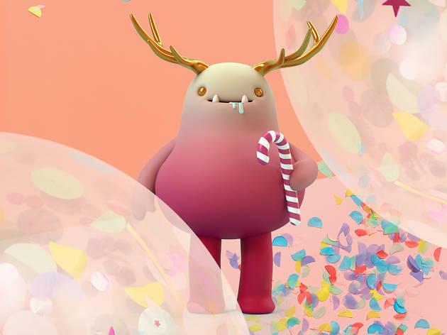 Colour Party QV Cane-Deer