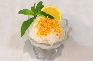Iranian faloodeh at Shiraz Ice Cream, iced dessert