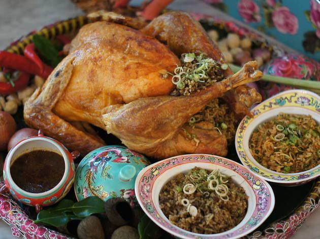 The Peranakan turkey