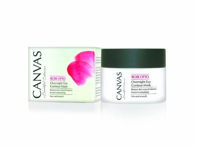 Canvas Rose Otto Overnight Eye Contour Mask