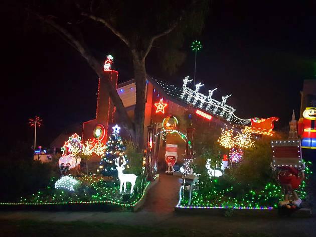 Rob's Christmas Lights Greensborough