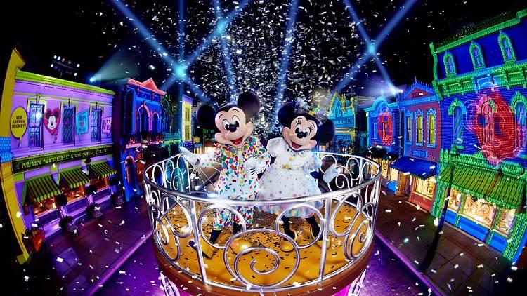 Hong Kong Disneyland Mickey 90