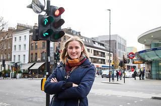 Katy O'Sullivan, traffic light controller at TfL