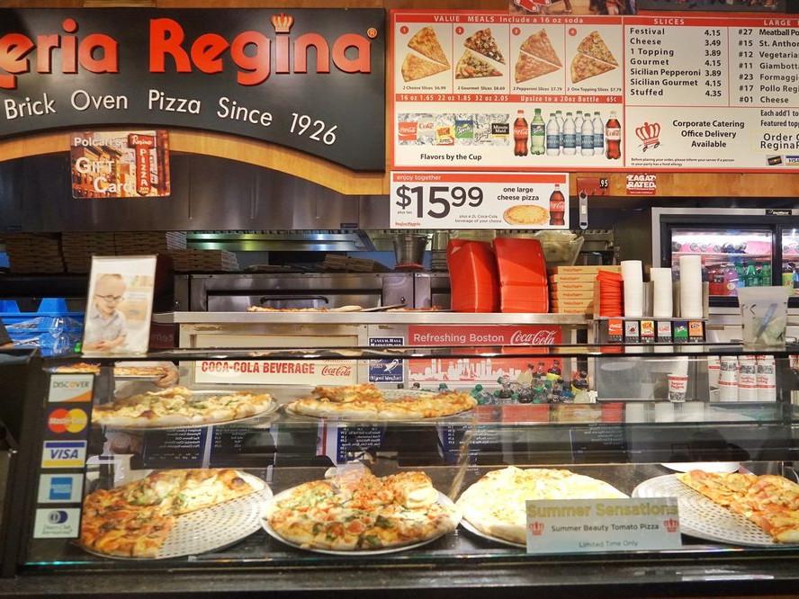 Quincy Market Food Colonnade