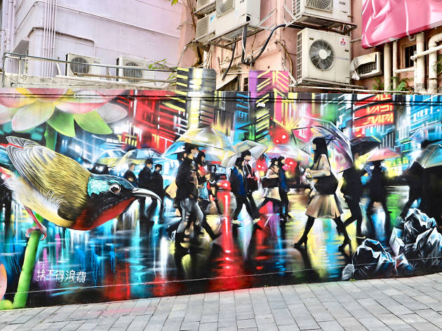 The Best Street Art In Hong Kong