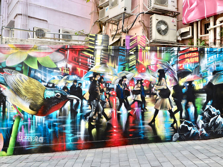 The best street art and graffiti in Hong Kong